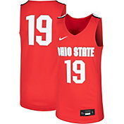 Nike Youth Ohio State Buckeyes #19 Scarlet Replica Basketball Jersey