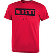 Nike Youth Ohio State Buckeyes Scarlet Basketball Legend Practice T-Shirt
