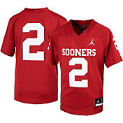 Jordan Youth Oklahoma Sooners #2 Crimson Replica Football Jersey
