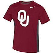 Nike Youth Oklahoma Sooners Crimson Dri-FIT Miler T-Shirt