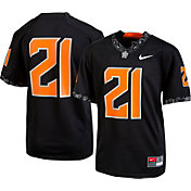 Nike Youth Oklahoma State Cowboys #21 Replica Football Black Jersey