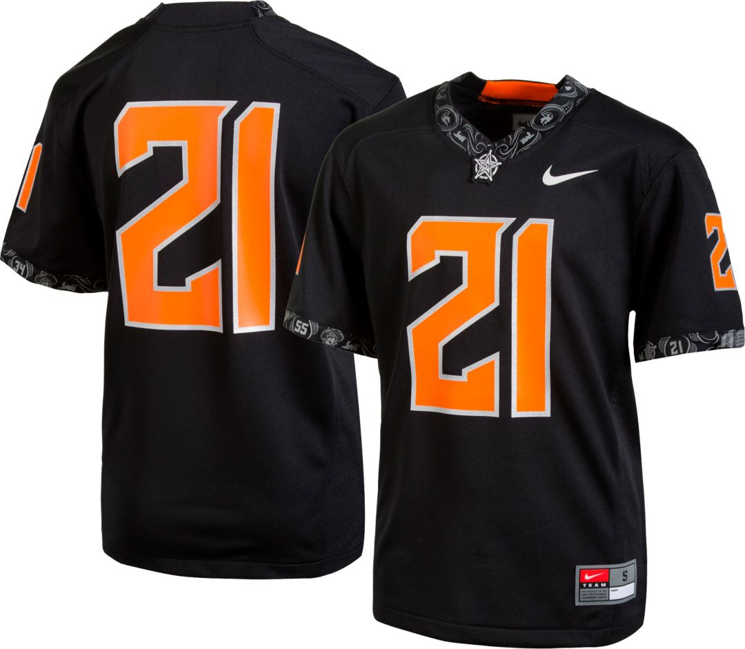 official photos 409ff 88625 Nike Youth Oklahoma State Cowboys #21 Replica Football Black Jersey