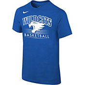 Nike Youth Kentucky Wildcats Blue Cotton Basketball T-Shirt