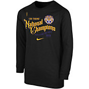 Nike Youth 2019 National Champions LSU Tigers Celebration Long Sleeve T-Shirt