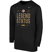 Nike Youth 2019 National Champions LSU Tigers Locker Room Long Sleeve T-Shirt