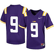 Nike Youth LSU Tigers #9 Purple Replica Football Jersey