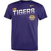 Nike Youth LSU Tigers Purple Legend Football Sideline T-Shirt