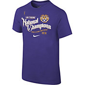 Nike Youth 2019 National Champions LSU Tigers Celebration T-Shirt