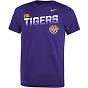 Nike Youth LSU Tigers Purple Legend T-Shirt