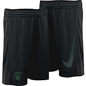 Nike Youth Michigan State Spartans Dry Black Shorts
