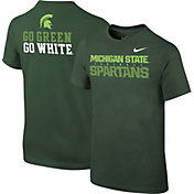 Nike Youth Michigan State Spartans Green Student Body T-Shirt