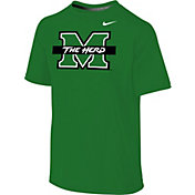 Nike Youth Marshall Thundering Herd Green Legend 2.0 T-Shirt