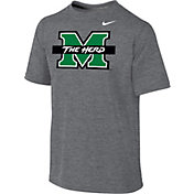 Nike Youth Marshall Thundering Herd Grey Legend 2.0 T-Shirt
