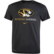 Nike Youth Missouri Tigers Football Icon Wordmark Black T-Shirt