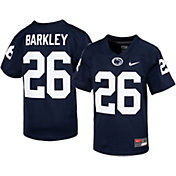 Nike Youth Saquon Barkley Penn State Nittany Lions #26 Blue Replica Football Jersey