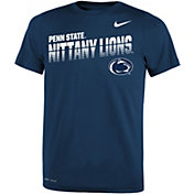 Nike Youth Penn State Nittany Lions Blue Legend Football Sideline T-Shirt