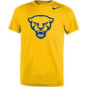 Nike Youth Pitt Panthers Gold Panther Head Logo Dri-FIT Legend 2.0 T-Shirt