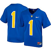 Nike Youth Pitt Panthers #1 Blue Replica Football Jersey