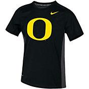 Nike Youth Oregon Ducks Dri-FIT Miler Black T-Shirt