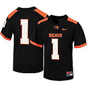 Nike Youth Oregon State Beavers #1 Replica Football Black Jersey