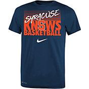 Nike Youth Syracuse Orange Blue Basketball Phrase T-Shirt