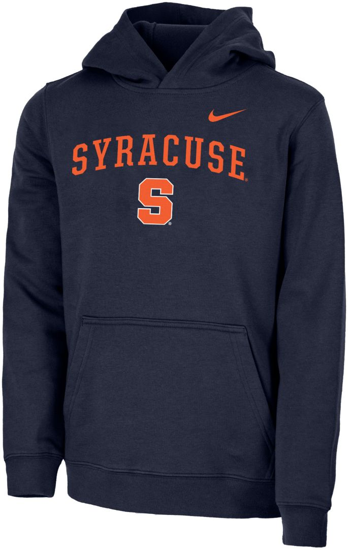 Nike Youth Syracuse Orange Blue Club Fleece Pullover Hoodie