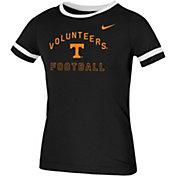 Nike Youth Tennessee Volunteers Fan Ringer Football Black T-Shirt