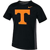 Nike Youth Tennessee Volunteers Dri-FIT Miler Black T-Shirt