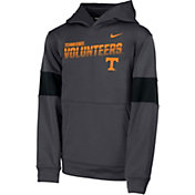 Nike Youth Tennessee Volunteers Grey Therma Football Sideline Pullover Hoodie