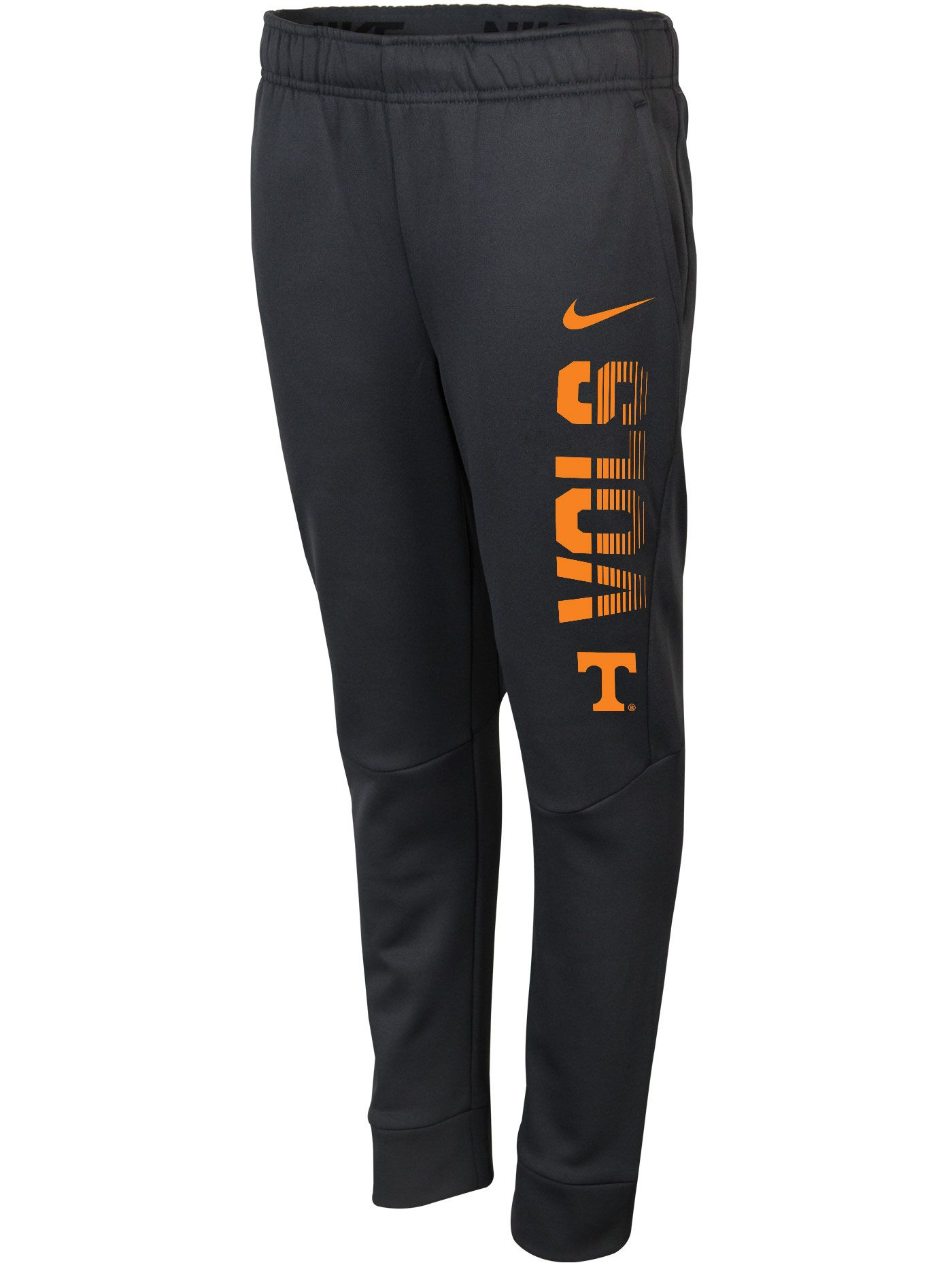 Nike Youth Tennessee Volunteers Grey Therma-FIT Tapered Pants