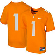 Nike Boys' Tennessee Volunteers #1 Tennessee Orange Replica Football Jersey