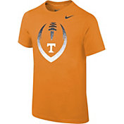 Nike Youth Tennessee Volunteers Tennessee Orange Cotton Football Icon T-Shirt