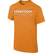 Nike Youth Tennessee Volunteers Tennessee Orange Football Dri-FIT Cotton Facility T-Shirt