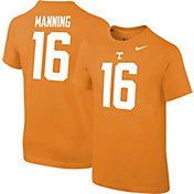 Nike Youth Peyton Manning Tennessee Volunteers #16 Tennessee Orange Cotton Football Jersey T-Shirt