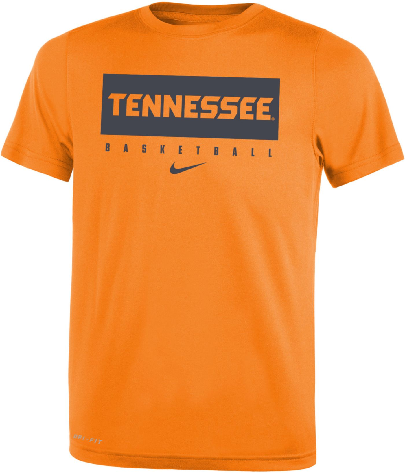Nike Youth Tennessee Volunteers Tennessee Orange Basketball Legend Practice T-Shirt