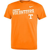Nike Youth Tennessee Volunteers Tennessee Orange Legend Football Sideline T-Shirt