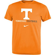 Nike Youth Tennessee Volunteers Tennessee Orange Football Icon Wordmark T-Shirt