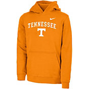 Nike Youth Tennessee Volunteers Tennessee Orange Club Fleece Pullover Hoodie