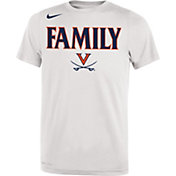 Nike Youth Virginia Cavaliers 'Family' Bench White T-Shirt