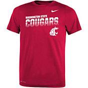 Nike Youth Washington State Cougars Crimson Legend Football Sideline T-Shirt