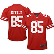 Nike Youth Home Game Jersey San Francisco 49ers George Kittle #85