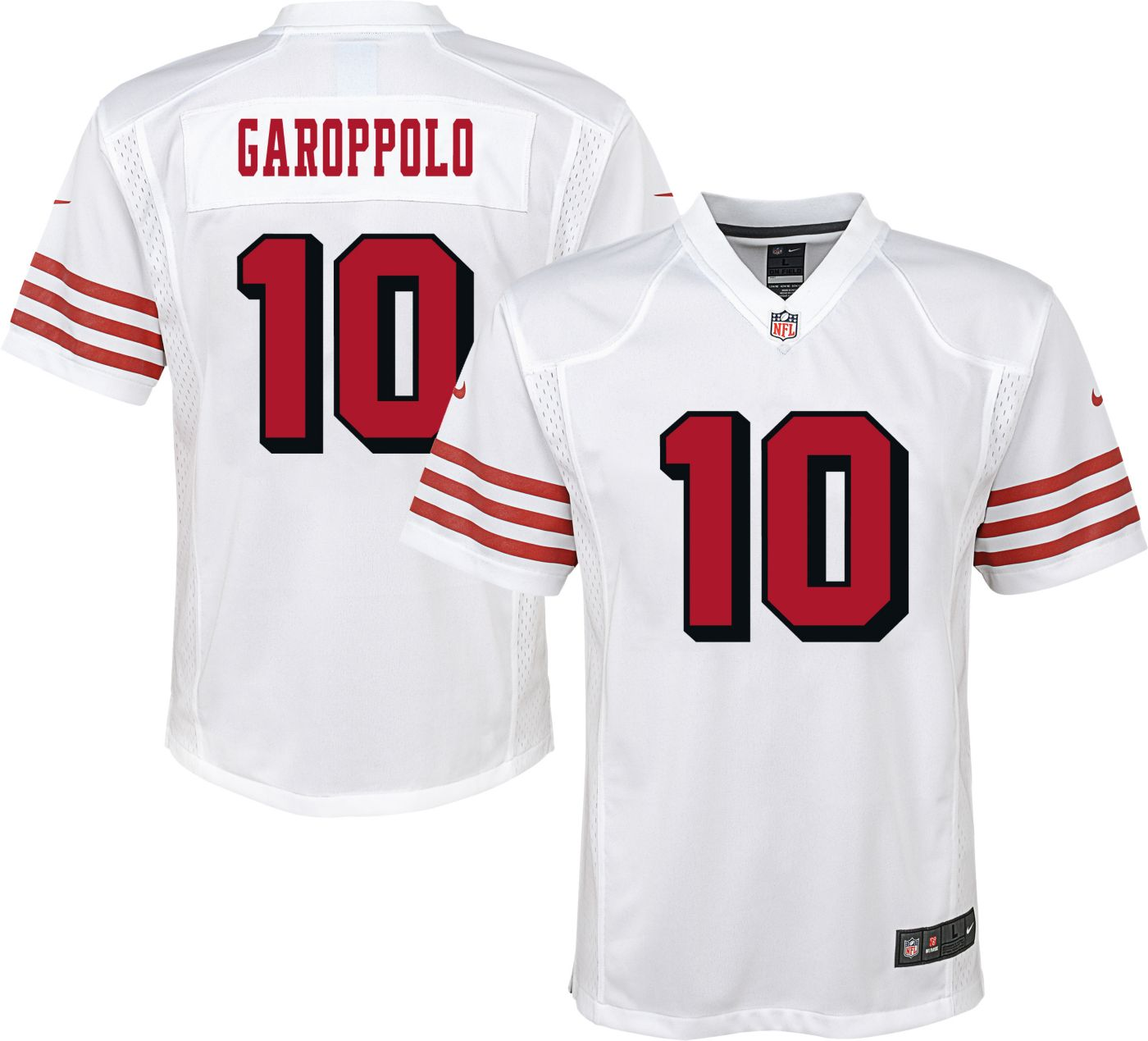 Nike Youth Color Rush Game Jersey San Francisco 49ers Jimmy Garoppolo #10