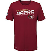 Nike Youth San Francisco 49ers Sideline Legend Performance Red T-Shirt