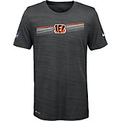 Nike Youth Cincinnati Bengals Legend Velocity Performance Black T-Shirt