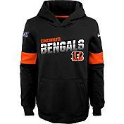 Nike Youth Cincinnati Bengals 100th Sideline Therma-FIT Black Pullover Hoodie