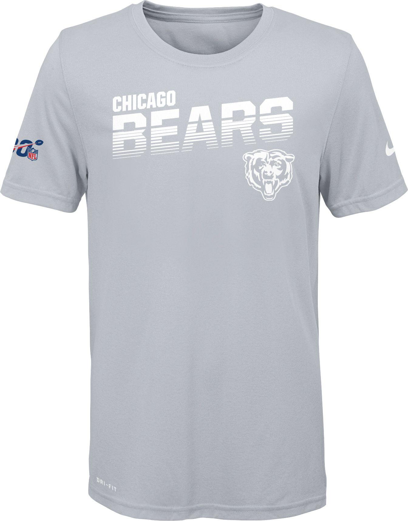 white chicago bears shirt