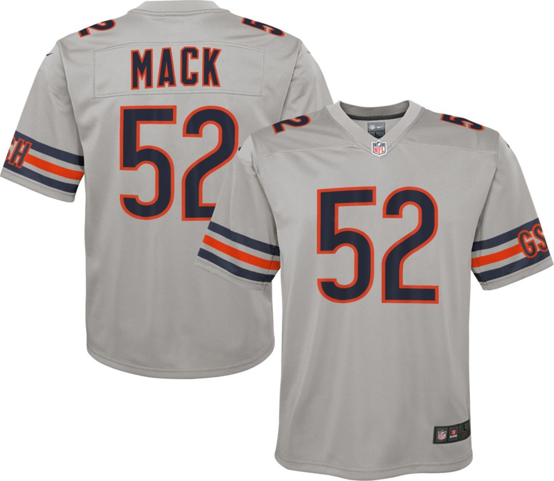 best website 22942 710a3 Nike Youth Alternate Legend Jersey Chicago Bears Khalil Mack #52