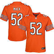 Nike Youth Chicago Bears Khalil Mack #52 Orange Game Jersey