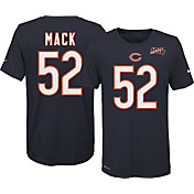 Nike Youth Chicago Bears Khalil Mack #52 100th Navy T-Shirt