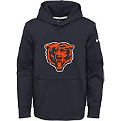 Nike Youth Chicago Bears Logo Essential Navy Hoodie